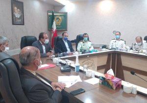 جلسه بررسی مسایل ترافیکی، انتظامی و چگونگی انتقال پلیس راه بناب به خارج ازشهر بناب برگزار شد