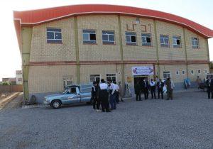 سالن ورزشی ۹ دی سپاه ناحیه بناب به بهره برداری رسید/ استفاده از این سالن تا اطلاع ثانوی به عنوان مرکز تجمعی واکسیناسیون